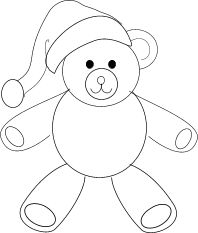 Simple Teddy Bear Drawing | ... follow these simple steps to draw this cute and cuddly teddy bear