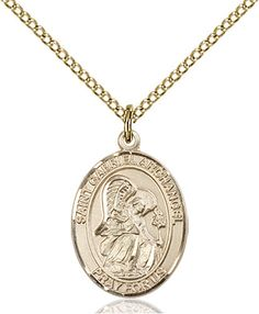 St. Gabriel the Archangel Pendant (Gold Filled) by Bliss | Catholic Shopping .com