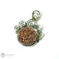 Ezüst medál achát kővel Belly Button Rings, Heart Ring, Floral, Jewelry, Jewlery, Jewerly, Flowers, Schmuck, Heart Rings