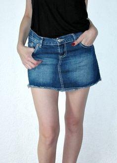 Kaufe meinen Artikel bei #Kleiderkreisel http://www.kleiderkreisel.de/damenmode/jeansrocke/54448994-jeansrock-von-victoria-beckham-grsm