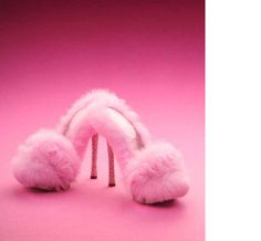 They are high, pink, and fluffy!  I just passed out !