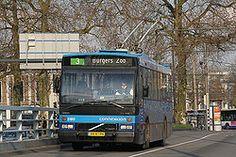 Arnhem, de enige trolleystad van Nederland Holland, Transportation, Tourism, Nostalgia, Public, Train, City, Volvo, Autos