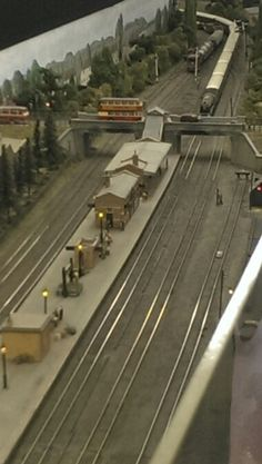 Ruddington station, GCR Nottingham N Scale Model Trains, Model Train Layouts, Scale Models, European Models, Real Model, Ho Trains, Australian Models, Small World, Scenery