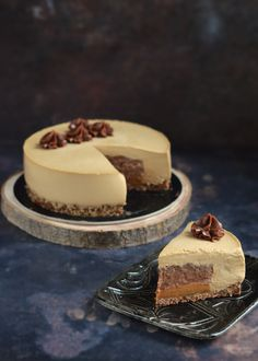 Mousse Cake, Healthy Desserts, Cake Designs, Panna Cotta, Cheesecake, Food And Drink, Sweets, Cooking, Ethnic Recipes