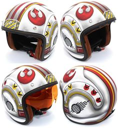 HJC IS-5 Star Wars X-Wing Fighter Pilot Limited Edition Motorcycle Helmet