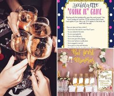 Entertaining and fun bachelorette party games for the bride squad! |