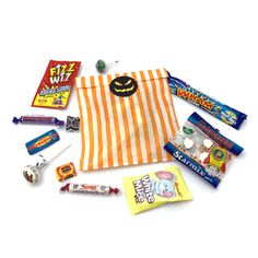 Trick or Treat! Customise these Halloween sweet bags that are available in either plain or striped coloured bags. These personalised sweet bags are ideal for giving away to potential customers at trade shows, exhibitions or handed around the office. Personalised Sweet Bags, Halloween Sweets, Promotional Bags, Corporate Outfits, Candy Skulls, Wedding Favours, Trick Or Treat, Chocolates, Prints
