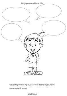 Materiały do pracy - Strona 5 z 6 - Small steps Class Rules, Educational Crafts, Play Therapy, Asd, Social Skills, Self Help, Vignettes, Kindergarten, Snoopy
