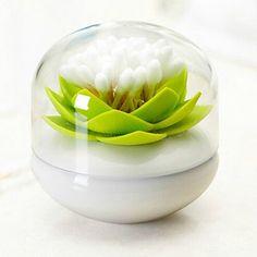 Lotus Cotton Swab Holder