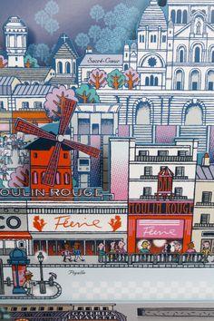 PARIS / Sacré Cœur la Pigalle. Editions Milan. 2013  http://www.sylvie-bessard.com