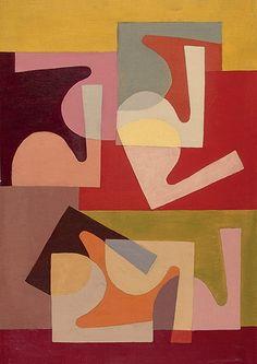 Art element shape and space Saloua Raouda Choucair: Fractional Module 1947-1951