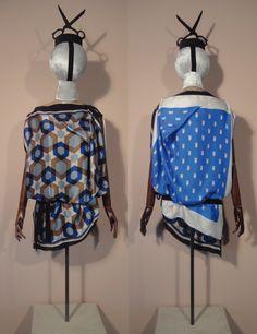 Camicie e Abiti foulard vintage - Manufatti | Riedizione #silk #foulard #reclaimed #sustainable #luxury