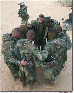 Soldiers pray and honor the fallen they have lost this day. Way Of Life, The Life, We Are The World, In This World, My Champion, The Embrace, Support Our Troops, Military Life, Military Service