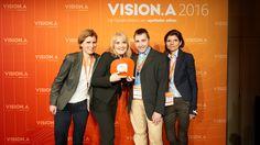 Der BIZ.Vision Award (für wegweisende Business-Lösungen) geht an CareFusion/Rowa…