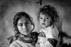 Roma Children, Ruti Alon. Via The Gypsy Chronicles.