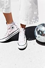Velvet High Top Sneakers | Classic Converse high tops featuring in a luxe velvet.