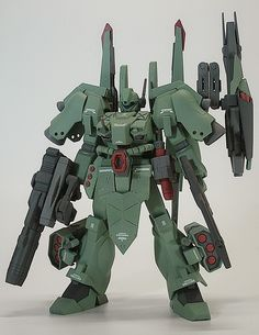 Custom Build: 1/144 Full Armor Jegan - Gundam Kits Collection News and Reviews