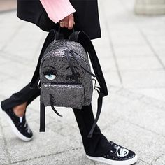Woman on the move. Backpacks are a practical solution to full hands and fast feet. @chiaraferragnicollection #chiaraferragni #MCstyleinspo  via MARIE CLAIRE SOUTH AFRICA MAGAZINE OFFICIAL INSTAGRAM - Celebrity  Fashion  Haute Couture  Advertising  Culture  Beauty  Editorial Photography  Magazine Covers  Supermodels  Runway Models