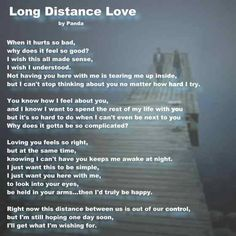 Love and long distance quotes