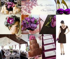 24 best Color Combinations - Purple & Brown images on Pinterest ...