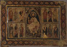 Frontal d'altar dels Apòstols o d'Estet | Museu Nacional d'Art de Catalunya