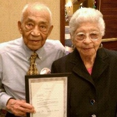 Married for 82 years - 102 and 99 years old...TRUE LOVE!!!