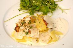 Das Topinambur-Kartoffel-Gratin mit Haselnüssen