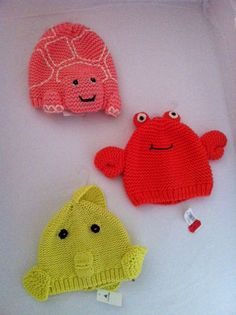 Baby hats from Gap