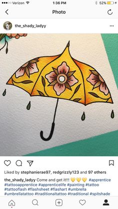 Traditional umbrella by @the_shady_ladyy on instagram