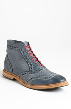 Free shipping and returns on Allen Edmonds 'Cronmok' Wingtip Boot (Men) at Nordstrom.com. Rich, intricate broguing touches up an ankle-height boot set on a versatile composite sole. <br><br>Allen Edmonds has been making shoes in America for nearly 100 years using fine leathers, a 212-step crafting process and 360° Goodyear welt construction to allow for recrafting to extend the life of the shoe.