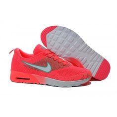 96a570817 949 Nike Air Max Thea Flyknit Femme Orange Argent Pas Cher calzado de marca  outlet at online off