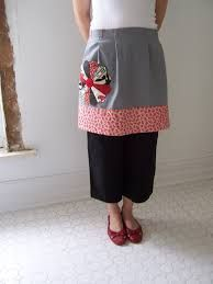 apron with flower pocket - Google Search