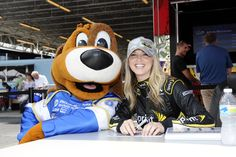 Lucky and Miss Sprint Cup