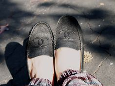 chanel loafers yes oh yes
