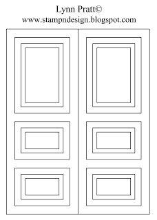 St&-n-Design: Rectangle Door Card