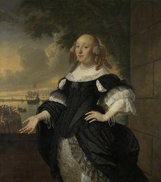 Portrait of Geertruida den Dubbelde, Wife of Aert van Nes   Bartholomeus van der Helst   1668   Rijksmuseum   Public Domain