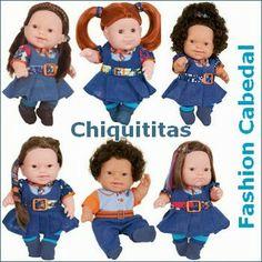 Fashion Cabedal: Bonecas Chiquititas 2013