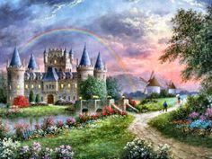 Inerary Castle by Dennis Patrick Lewan