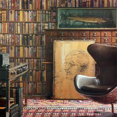 Library Wallpaper Andrew Martin