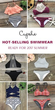 Check the hot-selling swimwear! Free shipping & Easy Return + Refund! Ready for 2017 summer? Cupshe have pick various style swimsuits for you to have a try. It is the only best must-have!