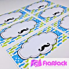 Mustache Freebies (Bookmark), Ideas, and Classroom Decor Pack Mustache Theme, Mustache Party, Student Jobs, Student Gifts, 2nd Grade Classroom, Classroom Themes, Sunday School, Back To School, Bookmark Ideas