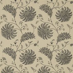 Sanderson - Traditional to contemporary, high quality designer fabrics and wallpapers | Products | British/UK Fabric and Wallpapers | Mapperton (DPGR236335) | Palm Grove
