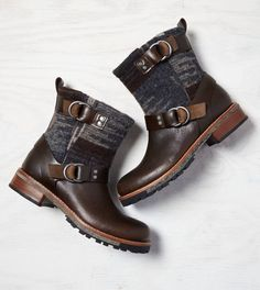 Brown Woolrich Baltimore Boots