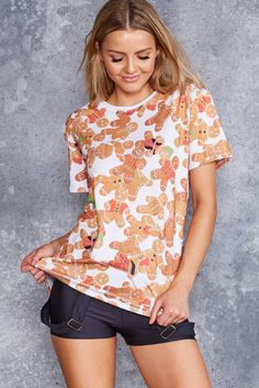 Black Milk Clothing Ginger Bread BFT - LIMITED (Available in Female and Male Sizes)