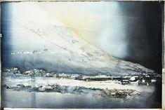 """""""Frost, Lofoten"""" by Lars Lerin"""