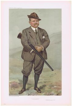 Shooting Print   Date:  28-Sep-1905   The Vanity Fair Caricature of    Mr. R.H.R Rimington-Wilson  Wilson  With the caption of  :  Driven Grouse  By the artist:  SPY     Visit www.theakston-thomas.co.uk for many more Vanity Fair Prints, we have one of the largest collections in the world.