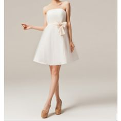 Cocktail Dress with Bow Ribbon, Bridesmaids dress for R420.00