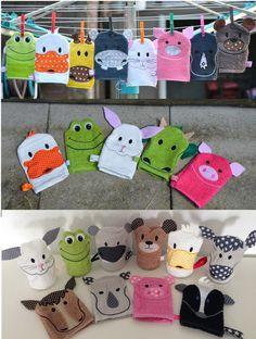 Towel Crafts, Dyi Crafts, Sewing For Kids, Baby Sewing, Kids Hooded Towels, Knitting For Charity, Baby Towel, Hand Puppets, Felt Toys