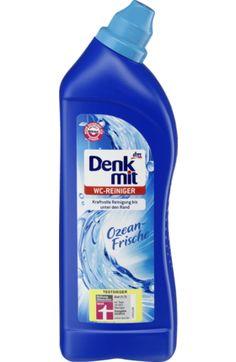 Der Denkmit WC-Reiniger Ozeanfrische wirkt kraftvoll und hygienisch bis unter den Rand. Mit der Kraft der Zitronensäure werden Schmutz und Kalk gründlich...