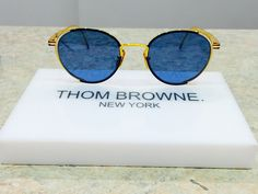 Blue Mood. #thombrowne #eyewear #charlottejonesopticians